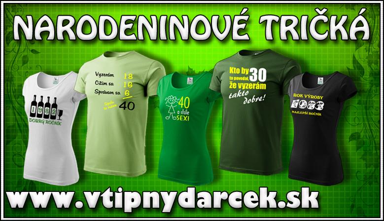 643b7c560b03 Vtipné narodeninové tričká